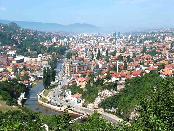 Sarajevo landscape