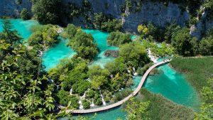 plitvice lakes green