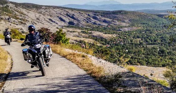 Motorcycle touring Croatia Gorski Kotar