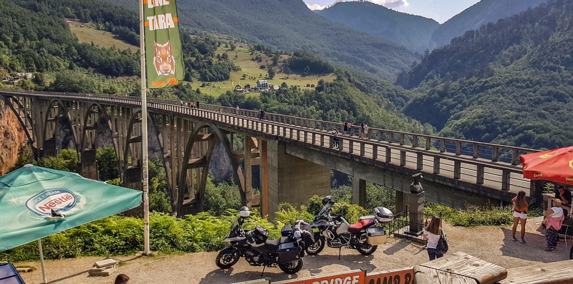 From Croatia to Montenegro motorcycle tour