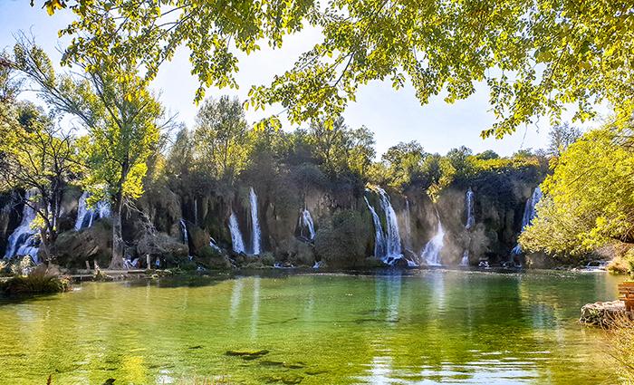 Kravica waterfalls motorbike tours